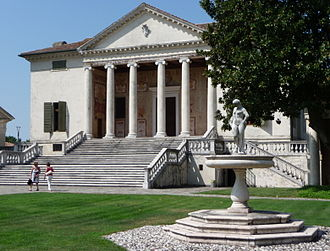 Villa Badoer - View from the entrance front