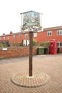 Newton on Trent human settlement in United Kingdom