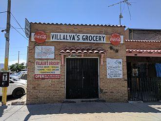 Chihuahuita - Villalva's Grocery in Chihuahuita.