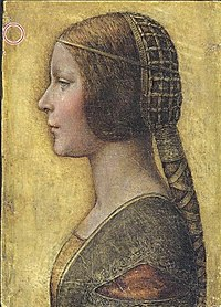 Vinci, Leonardo da (attributed) - La Bella Principessa - 16th c.jpg