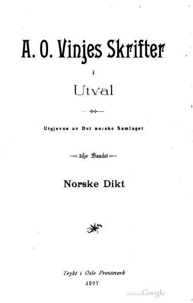 File:Vinje - Skrifter i Utval 3.djvu