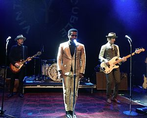 Vintage Trouble - Vintage Trouble performing in 2015