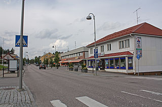Virrat Town in Pirkanmaa, Finland
