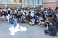 Visitors Photographing Cosplayer of Blue Long Kui (Jiang Princess) in FF24 20140727a.jpg