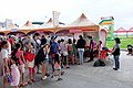 Visitors in Front of DEPTC Booth Waiting for Play Mini Billiards 20170530.jpg