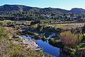 Vista del riu Gorgos amb aigua pel terme de Dénia.JPG