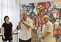 Vladimir Akulov Exhibitions in Minsk Modern Ars Museum 30.07.2013 02.JPG