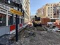 Voie perpendicuaire à la rue des cuirassiers (Lyon) - travaux.jpg