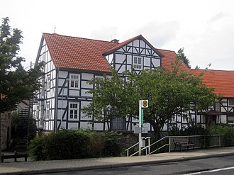 Lohfelden - Especially Vollmarshausen is dominated by timber-framed buildings of the late 18th and early 19th century