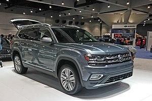 Volkswagen Atlas - Volkswagen Atlas in the 2017 San Diego Auto Show