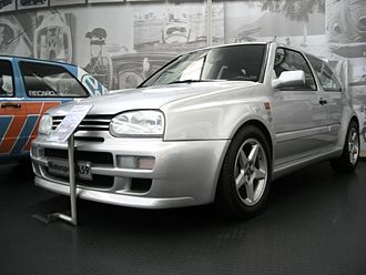 Volkswagen Golf Mk3 - The Golf A59 prototype in the Volkswagen Museum