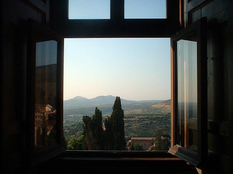 File vue depuis une fen tre de la villa d 39 este tivoli for La fenetre apartments