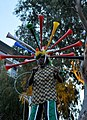 Vuvuzela man on stilts 18 June 2010 Cape Town.jpg