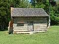 W. Manse George Cabin, Shiloh National Military Park.JPG