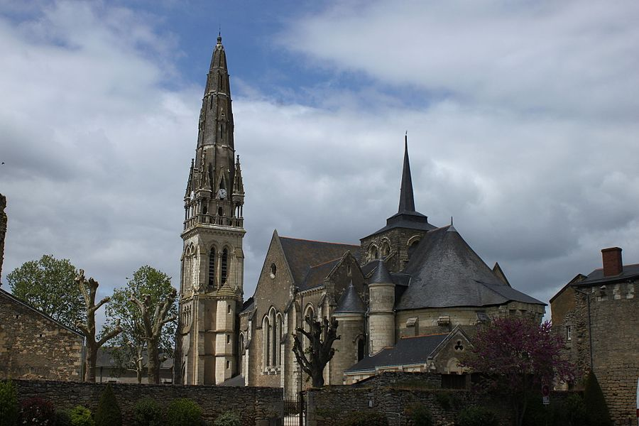 Église Saint-Simplicien, XII°, XIII°, XV°, XVII°, XIX°, Fr-49-Martigné-Briand.