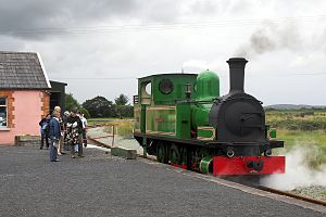 West Clare Railway - Slieve Callan a few weeks after return to West Clare tracks