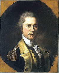 Portrait de Williams, par Charles Willson Peale, 1784.