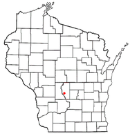 Location of Quincy, Wisconsin