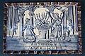 WLANL - MicheleLovesArt - Harlinger Aardewerkmuseum - Plaat met bijbelse voorstelling (aankondiging geboorte Johannes aan Zacharias), Harlingen (buiten de Kerkpoort), 18de eeuw.jpg
