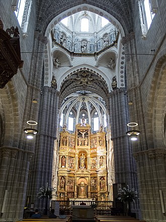 Tarazona Cathedral - The Cathedral interior