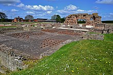 WROXETER ROMAN CITY FROM THE BATHS SUITE TO THE OLD WORK.JPG