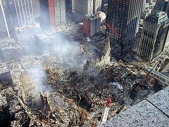 Ruinas del WTC.