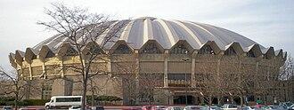 WVU Coliseum - Image: WVU Coliseum