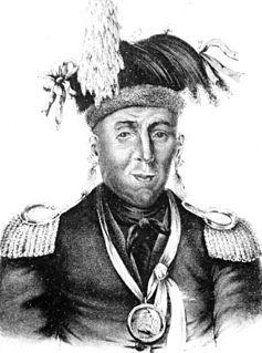 Waubonsie Potawatomi leader