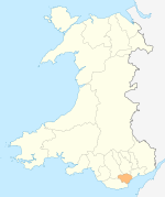 Wales Cardiff locator map.svg
