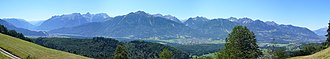 Rätikon - Image: Walgau Vorarlberg