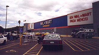 Walmart de México y Centroamérica - Image: Walmart Supercenter in Queretaro, Mexico
