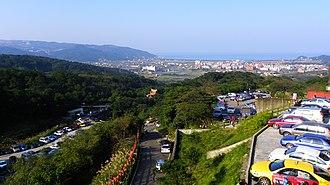 Wanli District, New Taipei - Image: Wanli District Birdview