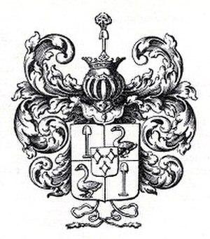 Cornelis de Graeff II. - Coat of arms De Graeff van Polsbroek as Lords of Purmerland and Ilpendam