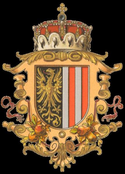 Datei:Wappen Erzherzogtum Österreich ob der Enns.png