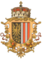 Coat of arms of the Archduchy of Austria above the Enns