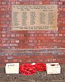 War Memorial at St. Anne's Church Wrenthorpe - geograph.org.uk - 403543.jpg