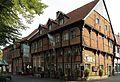 Warendorf Kirchstrasse 14 15 Historisches Brauhaus Warintharpa 01.JPG