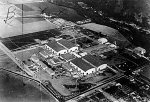 Warner Bros' first national studio, at Burbank