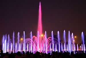 Warsaw Multimedia Fountain Park 1