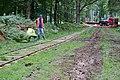 Warwickslade Cutting - laying the railway - geograph.org.uk - 1471023.jpg
