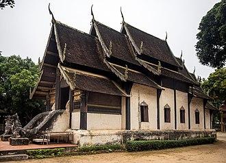Mae Chaem District - Image: Wat Pa Daet Mae Chaem 02