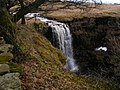 Waterfall on Hell Gill - geograph.org.uk - 1754290.jpg