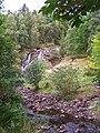 Waterfall on the Allt Mor - geograph.org.uk - 1504661.jpg