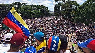 2017 Venezuelan protests - Millions of Venezuelans marching on 20 May during the We Are Millions march.