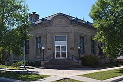 Webster City Post Office building, Webster City, Iowa.JPG