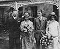 Wedding of LSE students George Grant MacKenzie and Elizabeth Annie Pearson, 1927 (4168846003).jpg