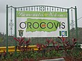 Welcome to Orocovis sign at a lookout in Orocovis, Puerto Rico.jpg