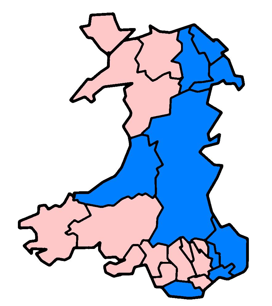 Welsh principal areas flood damage July 24 2007