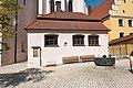 Wemding, Mangoldstraße 1, 3, Kath. Stadtkirche St. Emmeram, östliche Sakristei 20170830 001.jpg