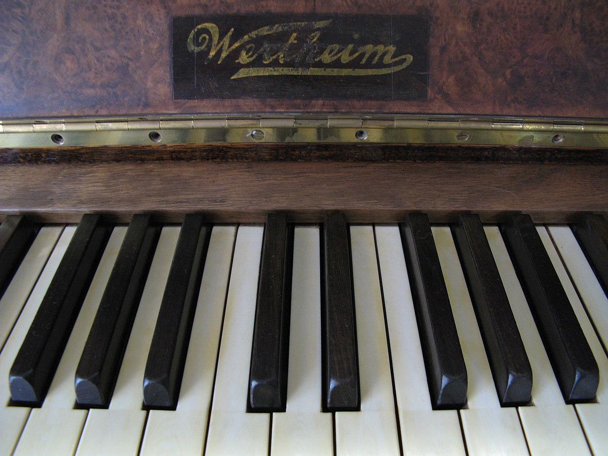 wertheim piano